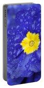 Primrose Raindrops Portable Battery Charger