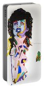 Prince Purple Reign Portable Battery Charger by Stormm Bradshaw