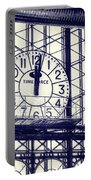 Principe Pio Clock Portable Battery Charger by Joan Carroll