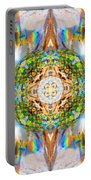Prism Rainbow Mandala Portable Battery Charger