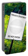 Private Driveway Portable Battery Charger