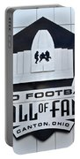 Pro Football Hall Of Fame Portable Battery Charger