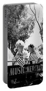 Pro-viet Nam War March Beaver's Band Box Musicians Tucson Arizona 1970 Black And White Portable Battery Charger