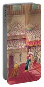 Procession Of The Dean And Prebendaries Of Westminster Bearing The Regalia, From An Album Portable Battery Charger