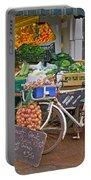 Produce Market In Corbridge Portable Battery Charger
