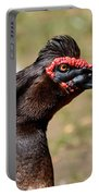 Profile Of A Brown Muscovy Duck Portable Battery Charger