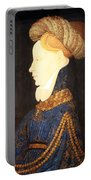 Profile Portrait Of A Lady -- Franco Flemish 15th Century Portable Battery Charger
