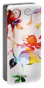 Profound Thought Rose Vine Portable Battery Charger