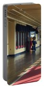 Promenade Deck Queen Mary Ocean Liner 01 Portable Battery Charger