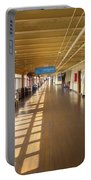 Promenade Deck Queen Mary Ocean Liner 02 Portable Battery Charger