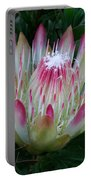 Protea Flower Portable Battery Charger