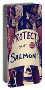 Protect Our Salmon Portable Battery Charger