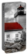 Protector Of The Harbor - Sand Point Lighthouse Portable Battery Charger