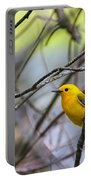 Prothonotary Warbler Portable Battery Charger