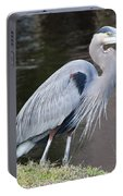 Proud Great Blue Heron Portable Battery Charger