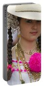 Proud Panama Lady  Portable Battery Charger