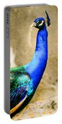 Proud Peacock Portable Battery Charger