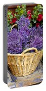 Provence Lavender Portable Battery Charger