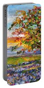 Provence Lavender Fields Portable Battery Charger