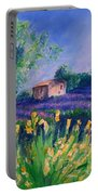 Provence Yellow Flowers Portable Battery Charger