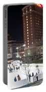 Providence On A Cold December Evening Portable Battery Charger