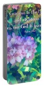 Psalm 116 5 Portable Battery Charger