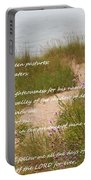 Psalm 23 Path  Portable Battery Charger