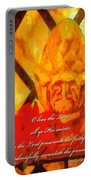 Psalm 31 23 Portable Battery Charger