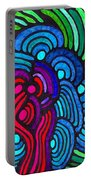 Psychedelia 5 Portable Battery Charger
