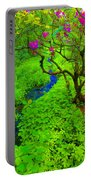 Psychedelic Adventure  Portable Battery Charger