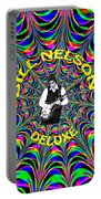 Psychedelic Bill Nelson Deluxe Portable Battery Charger