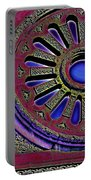 Psychedelic Church Window Portable Battery Charger