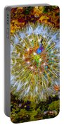 Psychedelic Dandelion Portable Battery Charger