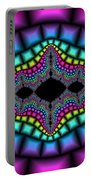 Psychedelic Portable Battery Charger
