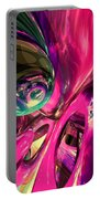 Psychedelic Fun House Abstract Portable Battery Charger