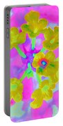 Psychedelic Lantana Portable Battery Charger
