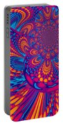 Psychedelic Mind Trip Portable Battery Charger