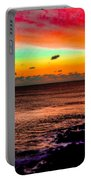 Psychedelic Sky Portable Battery Charger