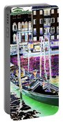 Psychedelic Venetian Scene Portable Battery Charger