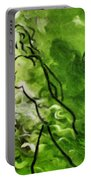 Psychological State In Green Portable Battery Charger