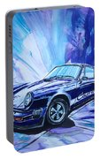 Psycodelic Porsche 911 Carrera. Portable Battery Charger
