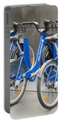 Public Shared Bicycles In Melbourne Australia Portable Battery Charger