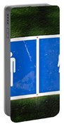 Public Toilet Sign Portable Battery Charger