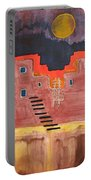 Pueblito Original Painting Portable Battery Charger