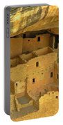 Puebloan Cliff Dwellings Portable Battery Charger