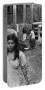 Puerto Rico Slum, 1942 Portable Battery Charger