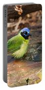 Puffy Green Jay Portable Battery Charger