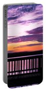 Puffy Sunset Portable Battery Charger