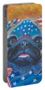Pug - Patriotic Dog Portable Battery Charger