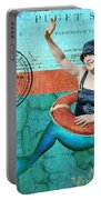 Puget Sound Mermaid  Portable Battery Charger